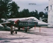 F-104G D-8143 K.Lu. 306 sq. Ramstein 11-6-1971 J.A.Engels
