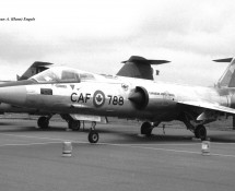 F-104G Starfighter (CF-104G) 104788 Canadese LM Hahn 10-6-1971 J.A.Engels