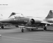 F-104G Starfighter FX-20 Belg.LM Hahn 10-6-1971 J.A.Engels