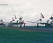 F-4E Thunderbirds 1 (+2,3,4,5) Hahn 10-6-1971 J.A.Engels