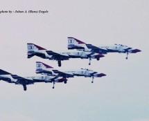 F-4E formatie Thunderbirds Hahn 10-6-1971 J.A.Engels