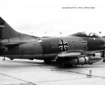 G91R 31+80 Luftwaffe LeKG42 Hahn 10-6-1971 J.A.Engels