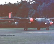 Noratlas 53+13 Luftwaffe Ramstein 11-6-1971 J.A.Engels