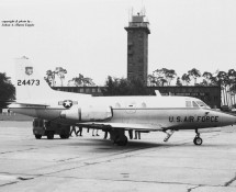 North American T-39 Sabreliner 24473 USAFE Ramstein 11-6-1971 J.A.Engels