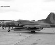 Northrop-Canadair NF-5A K-3013 K.Lu. Hahn 10-6-1971 J.A.Engels