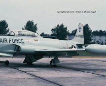 T-33 63682 USAFE Ramstein 11-6-1971 J.A.Engels
