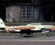 T-33 Deense LM DT-728  Ramstein 11-6-1971 J.A.Engels