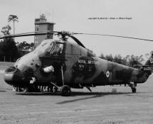 Westland Wessex XV728 RAF 18 sq. Ramstein 12-6-1971 J.A.Engels