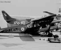 Aermacchi AM.3C I-AEAM (prototype) Le Bourget (27-28)-5-1971 J.A.Engels