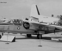 Saab 105 SE-DCP Oostenrijkse LM Le Bourget 27-5-1971 J.A.Engels