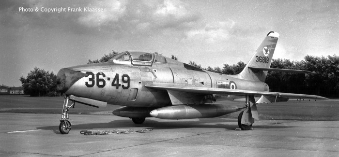 F-84Fs of the Italian Air Force