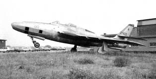 RF-84F, Villafranca 1970ties (CF