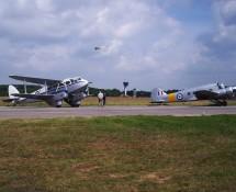 De Havilland Dragon Rapide TX310 + Avro Anson WD413 (HE)