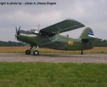 Antonov AN-2 41 LM Estland Volkel 14-6-2013 J.A.Engels