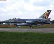 F-16A J-002 K.Lu 323 sq. Volkel 14-6-2013 J.A.Engels