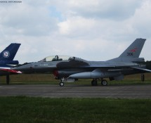F-16B Noorse LM 306 Volkel 14-6-2013 J.A.Engels