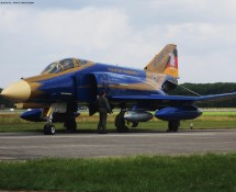 F-4F Phantom II 37+01 Luftwaffe JG71 Volkel 14-6-2013 J.A.Engels