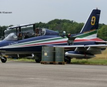 Frecce Tricolore's 0 is awaiting  showtime (FK)