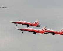 Patrouille de Suisse in take-off (FK)