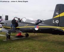 Pilatus PC.7 L-10 K.Lu. Volkel 14-6-2013 J.A.Engels