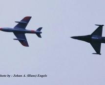 Hunter T.8 Warbird (+ F-16) , K.Lu. , Volkel 2007 (HE)