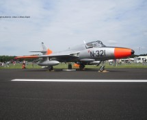 Hawker Hunter T.8C , Gilze Rijen 2014(HE)