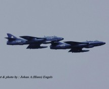 Hawker Hunters (from Sweden) , Volkel 2007 (HE)