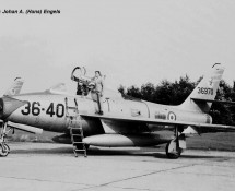 F-84F 36th Wing , Italian AF (CHE) (photo by : Th.de Brouwer )