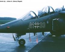 Alphajet , Luftwaffe , Deelen 1988 (HE)