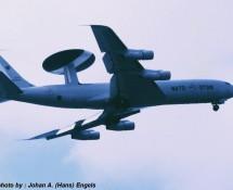 Boeing E-3A AWACS , Scheveningen , 1988 (HE)