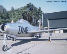 Thunderjet BAF , Kleine Brogel 1991 (HE)