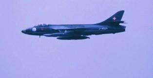 Hawker Hunter , La Patr. de Suisse , Deelen 1988 (HE)