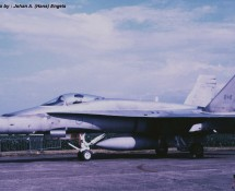 CF-18 Hornet , CAF , Deelen 1988 (HE)
