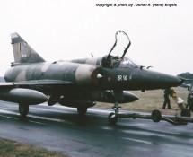 Mirage VBR , BAF , Deelen 1988 (HE)