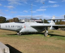 Northrop F-89J Scorpion  53-2463 at the Warner Robins Museum of Aviation, Georgia in November 2013 (FK) FK)