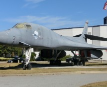 Rockwell B-1B 83-0069 is gateguarding the museum (FK)
