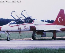 NF-5B , Turkish Stars (HE)