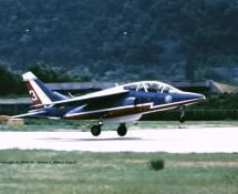 Alphajet La Patr. de France 3 Sion 23-6-1989 J.A.Engels