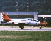 CASA Aviojet 79-08 Spaanse LM Patr.Aguila Sion 23-6-1989 J.A.Engels
