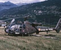 Gazelle (Aerospatiale) BWP Franse Landmacht Sion 24-6-1989 J.A.Engels