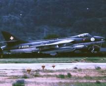 Hawker Hunter J-4029 Zwits.LM La Patr.de Suisse Sion 23-6-1989 J.A.Engels