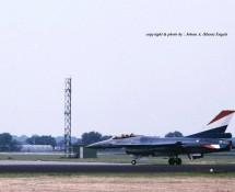 F-16A J-060 K.Lu. (demo a-c) MVK Valkenburg 1-6-1990 J.A.Engels