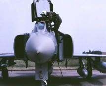 F-4 Phantom II XV410 (E) RAF 56 sq.MVK Valkenburg 1-6-1990 J.A.Engels