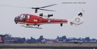 Westland Gazelle XW868 Royal Navy (Pussers Pair,Culdrose) MVK Valkenburg 1-6-1990 J.A.Engels