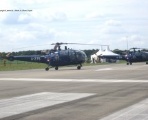 Alouette III A-275 (en A-301) K.Lu. Gilze Rijen 21-6-2014 J.A.Engels