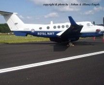 Beechcraft 300 Avenger ZZ503 Royal Navy Gilze Rijen 21-6-2014 J.A.Engels