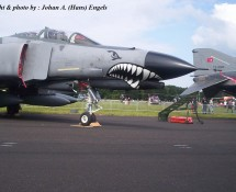 F-4E Phantom II 73-1020 (+ 73-1046) Turkse LM Gilze Rijen 21-6-2014 J.A.Engels