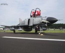 F-4E Phantom II 73-1020 Turkse LM Gilze Rijen 21-6-2014 J.A.Engels