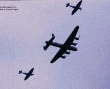 (warbird) Lancaster + 2x Spitfire BoB.Mem.Flt. Gilze Rijen 21-6-2014 J.A.Engels
