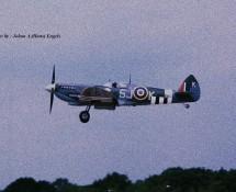 (warbird ) Supermarine Spitfire LF.IX MK356m(SJ-K) BoBMem.Flt. Gilze Rijen 21-6-2014 J.A.Engels